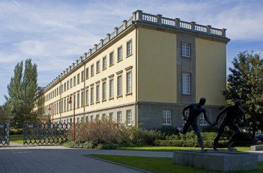 Gebäudeansicht der Handelshochschule Leipzig