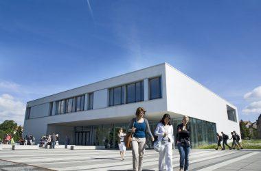 Gebäudeansicht der Hochschule Zittau/Görlitz