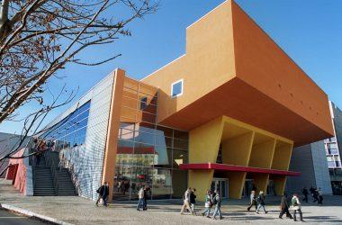 Gebäudeansicht der Technischen Universität Chemnitz