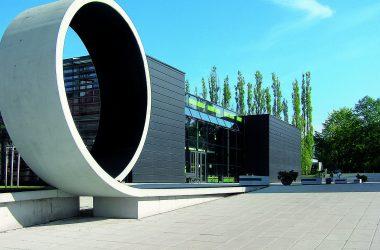 Gebäudeansicht der Westsächsischen Hochschule Zwickau